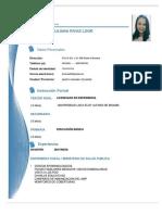 Curriculum Vitae - Liz Rivas L