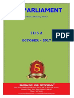 IDSA October 2017
