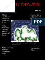 Ability Anyware Digital Quarterly (AADQ) Winter 2017