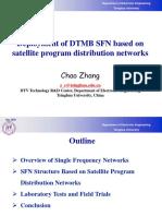 2Deployment of DTMB SFN Based on Satellite Program Distribution Networks-Zhangchao
