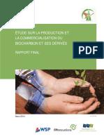 214-2131 - Rapport Final Faisabilite Biocharbon