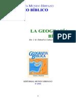 J. B. Tidwell _ Carlos C. Pierson - La Geografia Biblica