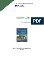 J.D. Douglas, Merrill C. Tenney - Diccionario Biblico a - M