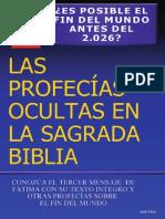 Jose Villar - Las Profecías Ocultas en La Sagrada Biblia
