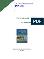 J.D. Douglas, Merrill C. Tenney - Diccionario Biblico N - Z