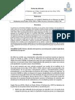 [FICHA Articulo] Dinámica de La Pobreza en Chile_ Evidencias en Los Años 1996, 2001 y 2006
