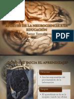 Aportes de La Neurociencia a La Educación