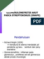 GlomeruloNefritis Pasca-Streptococus (GNAPS)