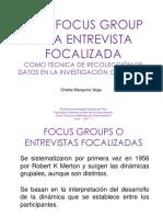 Sem 10 - El focus group o la entrevista focalizada.pptx