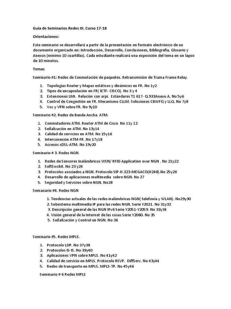 Guia de Seminarios Redes III