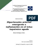 HA Emergente e Inflamacion en Ictus Esquemico Agudo