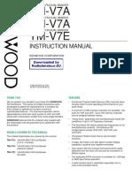 Kenwood Tm v7 User Manual