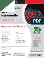 Kapacitacion Fortinet 2 3