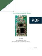 HC-11 RF Module Documentation