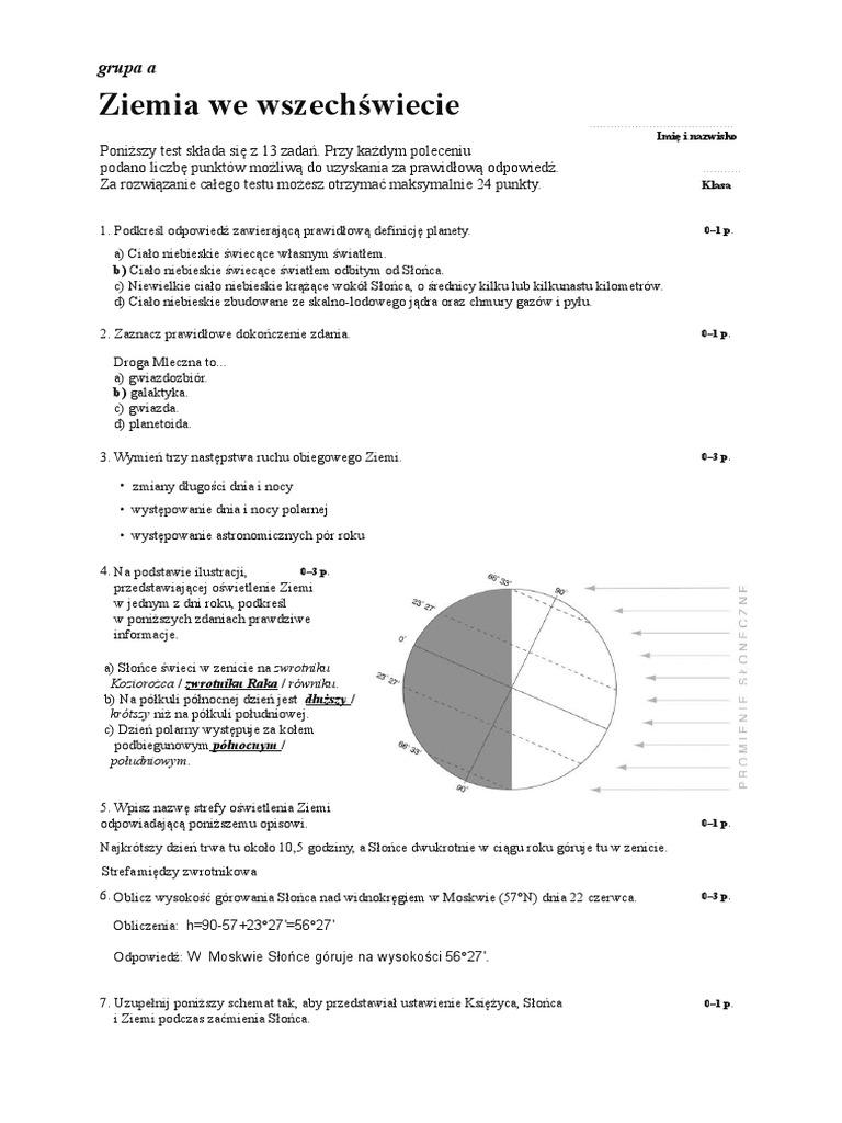 lalka sprawdzian pdf nowa era