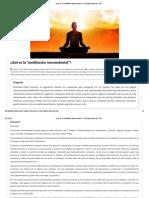 ¿Qué Es La _meditación Trascendental__ - El Teólogo Responde - IVE