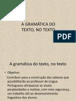A Gramática Do Texto