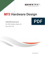 Quectel M72 Hardware Design V4.1