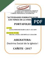 Portafolio II - Segunda Unidad