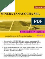 Taponex en Yanacocha