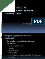 Kontrol Kualitas Bahan Alam(1)