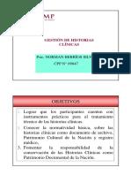 Gestion Historias Clinicas USMP