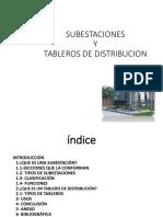 Subestaciones y Tablerios de Distribución