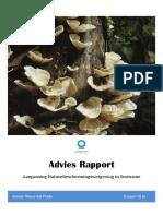 Aanbevelingsrapport Roadmap Natuurwetgeving Mrt 2016
