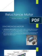 Synchronous Non Excited Reluctance Motor