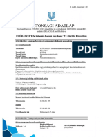 Biztonsagi Adatlap Floraszept WCtisztíto Klasszikus Unilever 20141124