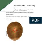 Pontos Ex1, Ex2 e Ex17 (acupuntura)