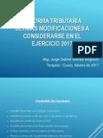 Reforma Tributaria 2017