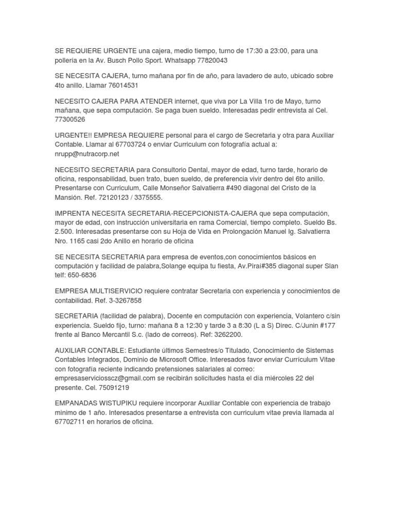 Lujo Currículum Vitae Para Camarera Y Cajero Regalo - Ejemplo De ...