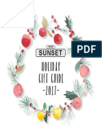 2017 Sunset Holiday Gift Guide