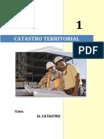 Tomo 1 - Catastro
