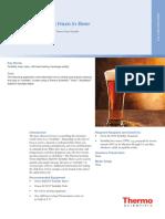 App Note 012 Measuring Haze in Beer