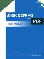 Auslogics Disk Defrag Professional Help Manual