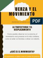 PPT La Fuerza y El Movimiento