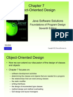 08 - Chapter 7 - Object-Oriented Design
