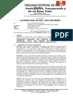 Informe Legal Nº 001-2017-Ordenanza Que Aprueva La Obligacion de Presentar Declaeracion Jurada Masiva 2017