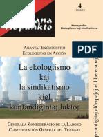 La ekologiismo kaj la sindikatismo