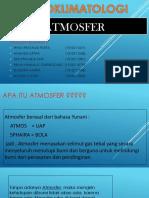 AGROKLIMATOLOGI (ATMOSFER)