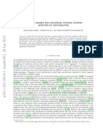 Symbolic Models for Nonlinear Control Systems Affected by Disturbances