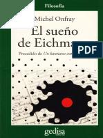 Onfray, Michel - El Sueno de Eichmann