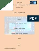 La Boratorio de Instalacion de Windows8 de Mayo
