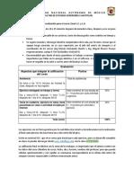 Lineamientos de Trabajo y Evaluacion Excel