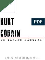 Kurt Cobain de Javier Márquez