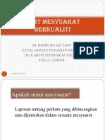 MINIT MESYUARAT BERKUALITI.pptx