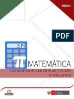 m1 b3 Matestudio Tutorial Elaboración Micrositio Exelearning