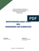 Responsabilidad Civil Del Ingeniero en Ejercicio